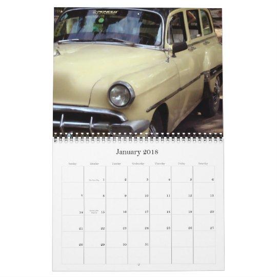 Old Cars Calendar 2008