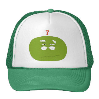 Old Cartoon Turlte With Glasses Trucker Hat