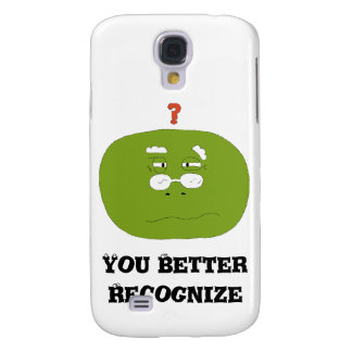 Old Cartoon Turtle With Glasses Samsung Galaxy S4 Case