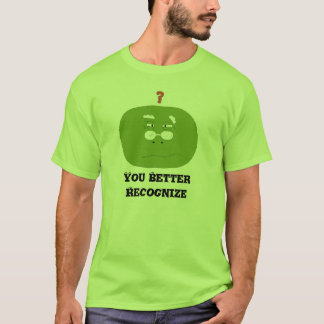 Old Cartoon Turtle With Glasses T-Shirt