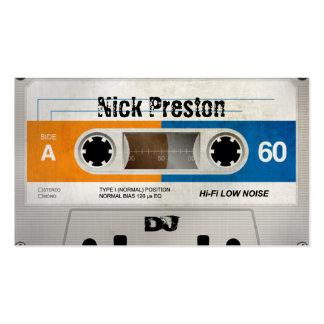 Old Cassette DJ Business Card