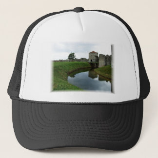 Old castle and mote trucker hat