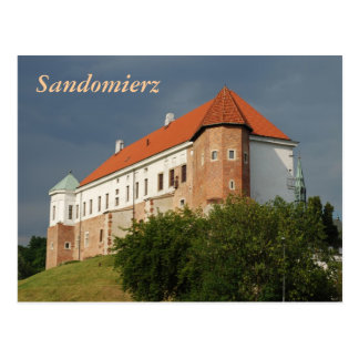 Old castle in Sandomierz. Poland Post Cards