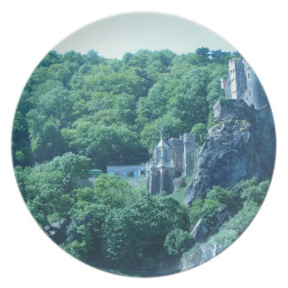 Old Castle Party Plate