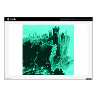 Old Castle Ruins Decals For Laptops