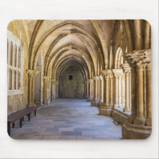 Old Cathedral Cloister Hallway Mouse Pad