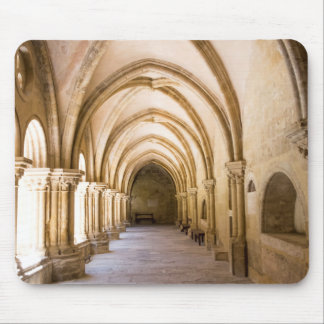 Old Cathedral Cloister Walkway Mouse Pad