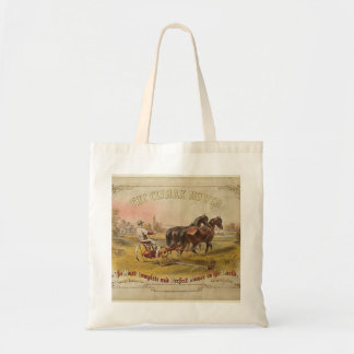 Old Ceifador with pair of horses Tote Bag