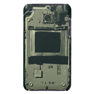 old cell phone circuit board iPod touch case