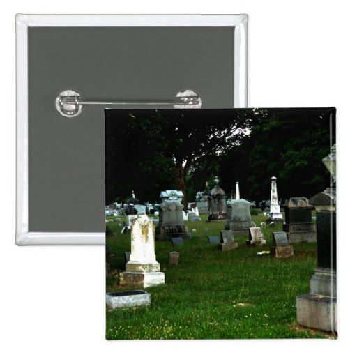 Old Cemetery Pinback Button