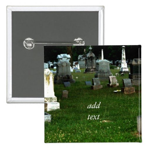 Old Cemetery Pin