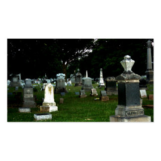 Old Cemetery Double-Sided Standard Business Cards (Pack Of 100)