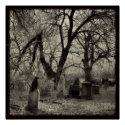 Old Cemetery print