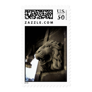 Old Central Park Fountain 01 Postage