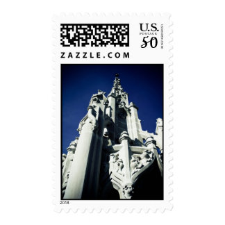 Old Central Park Fountain 03 Postage