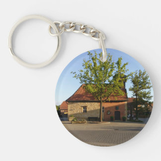 Old chapel Bülten (key supporter) Single-Sided Round Acrylic Keychain