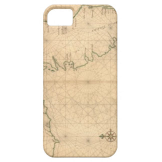 Old Chart of Florida Cellphone Case