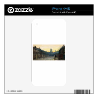 Old Chelsea by John Atkinson Grimshaw iPhone 4 Skins
