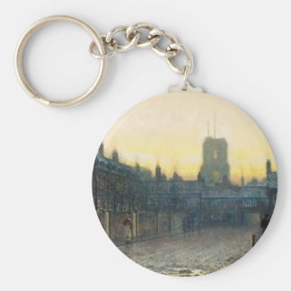 Old Chelsea by John Atkinson Grimshaw Keychain
