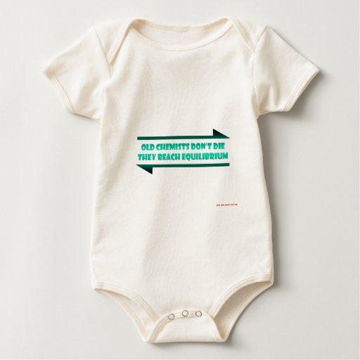 Old Chemists Reach Equilibrium Baby Bodysuit