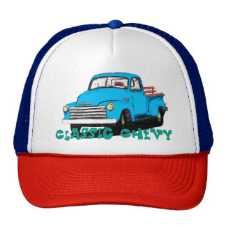 Old Chevy Pickup Truck Trucker Hat