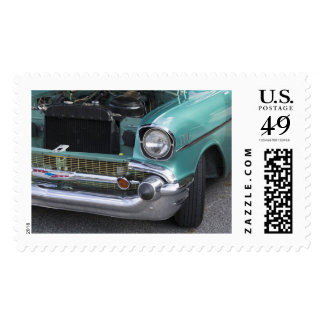 Old Chevy Postage Stamps