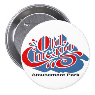 Old Chicago Amusement Park, Bolingbrook, IL 3 Inch Round Button