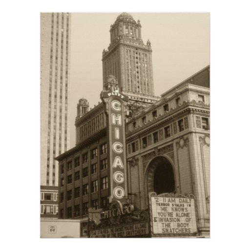Old Chicago Photo Art Print