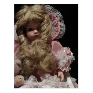 Old Child's Doll Post Card