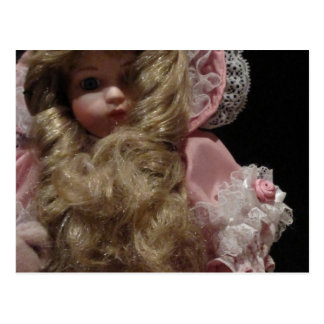 Old Child's Doll Postcard