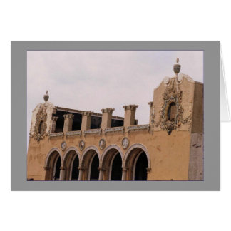 Old Childs Restaurant Facade Blank Greeting Card