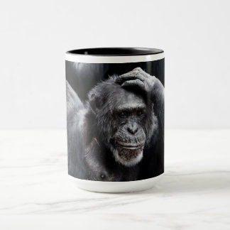 Old Chimpanzee mugs - choose style, color