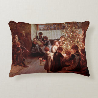 Old Christmas Accent Pillow