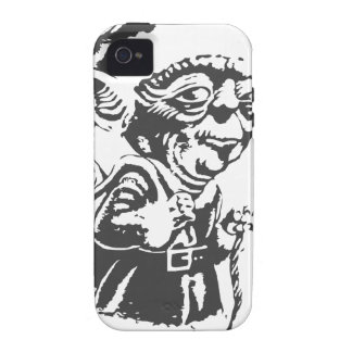Old Christmas Elf iPhone 4 Cases