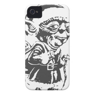 Old Christmas Elf iPhone 4 Case