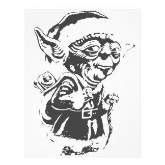 Old Christmas Elf Letterhead