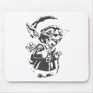 Old Christmas Elf Mouse Pad