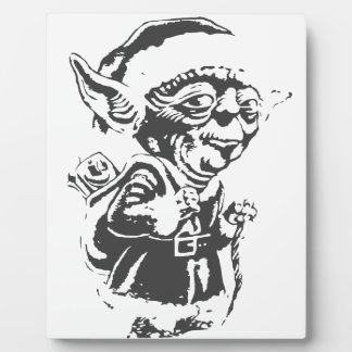 Old Christmas Elf Plaque