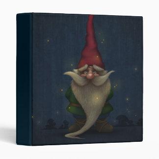Old Christmas Gnome Binder