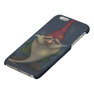 Old Christmas Gnome Matte iPhone 6 Case