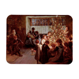 Old Christmas Magnet