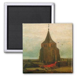 Old Church by Vincent van Gogh Fridge Magnets