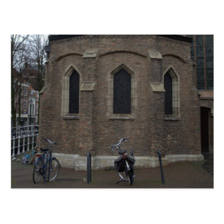 Old Church, Delft Postcard