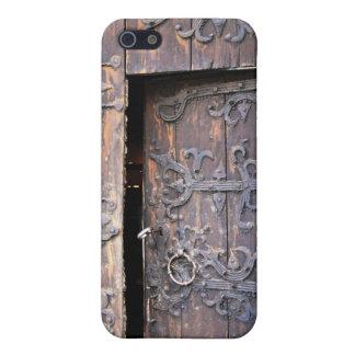 Old Church Door Gotland Gothic Sweden iPhone SE/5/5s Case