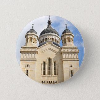 Old church in Cluj Napoca, Romania Button