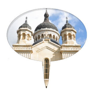 Old church in Cluj Napoca, Romania Cake Topper