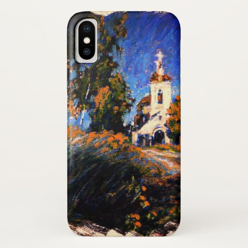 Old Church Near Moscow iPhone XS Case