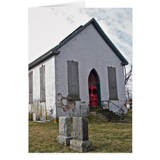Old Church Note Card