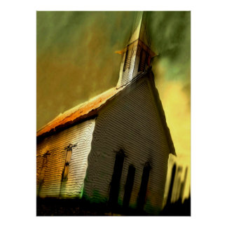 old church poster