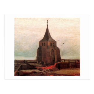 Old Church Tower at Nuenen Van Gogh Fine Art Postcard